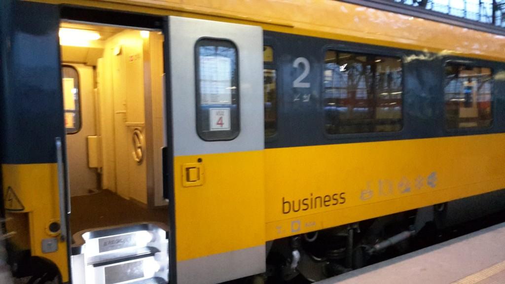 RegioJet - ledový vagón